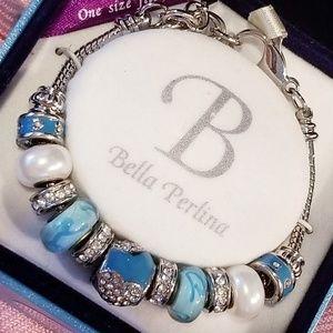 Bella Perlina Signature Charm Bracelet